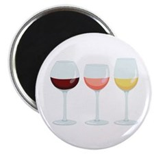Wine Glasses Magnets