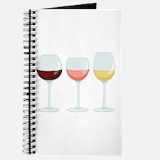 Wine Glasses Journal