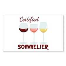 Certified SOMMELIER Decal