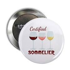 """Certified SOMMELIER 2.25"""" Button (10 pack)"""
