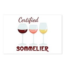 Certified SOMMELIER Postcards (Package of 8)