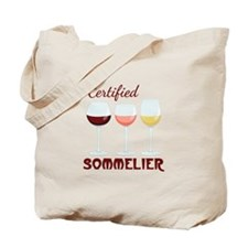Certified SOMMELIER Tote Bag