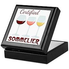 Certified SOMMELIER Keepsake Box