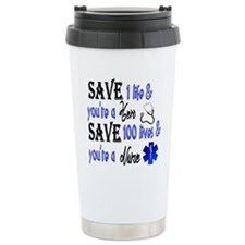 Nurse, Save Travel Mug