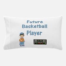 Future Basketball Player (lt. blue) Pillow Case