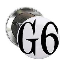 """G6, black designer 2.25"""" Button"""
