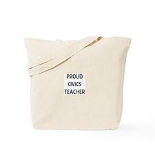 CIVICS teacher Tote Bag