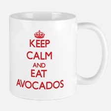 Keep calm and eat Avocados Mugs