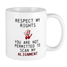 Respect alignment Mugs