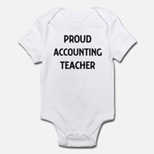 ACCOUNTING teacher Infant Bodysuit