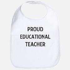 EDUCATIONAL teacher Bib