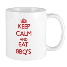 Keep calm and eat Bbq'S Mugs