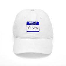 hello my name is christi Baseball Cap