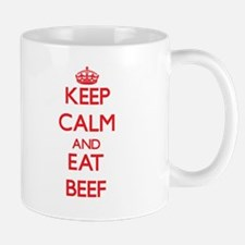 Keep calm and eat Beef Mugs