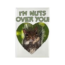 nuts over you Rectangle Magnet