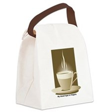 My blood type is Folgers Canvas Lunch Bag