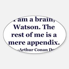 Brain App Sticker (Oval)