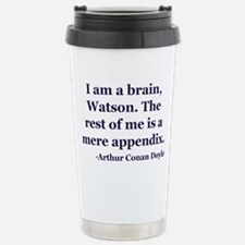 Brain App Stainless Steel Travel Mug