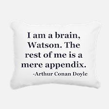 Brain App Rectangular Canvas Pillow