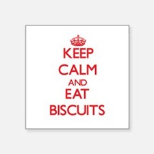 Keep calm and eat Biscuits Sticker