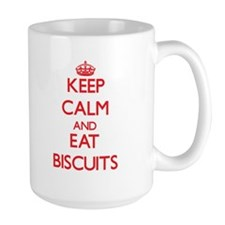 Keep calm and eat Biscuits Mugs
