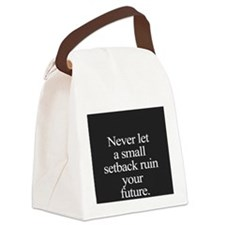 Never Canvas Lunch Bag