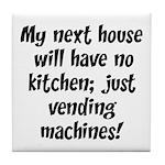 Kitchen Vending Machines Tile Coaster