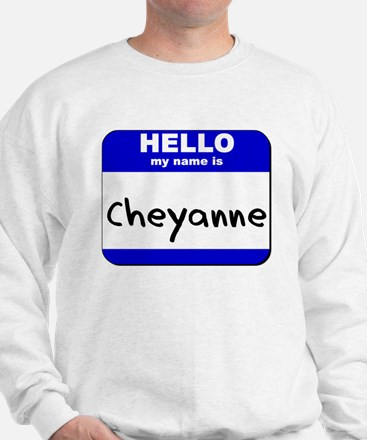 hello my name is cheyanne Sweater