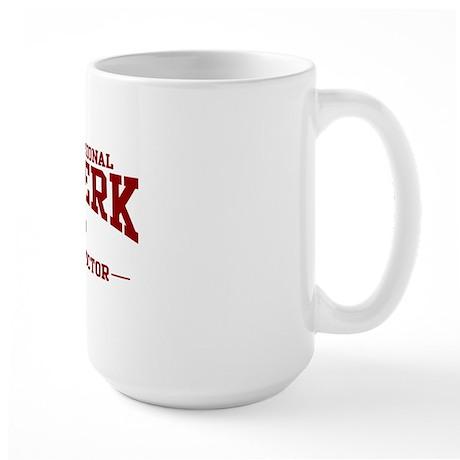 Twerk Instructor Large Mug