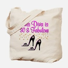 SPARKLING 30TH Tote Bag