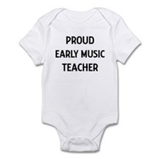 EARLY MUSIC teacher Infant Bodysuit