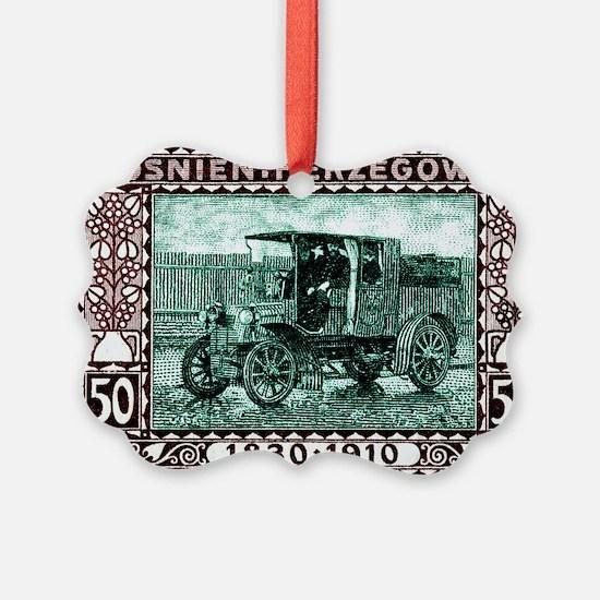 1910 Bosnia Herzegovina Mail Truc Ornament
