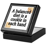 Cookie Balanced Diet Keepsake Box