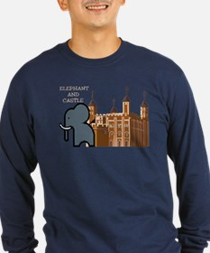Cute Elephant and castle T