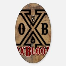 OxBlooD Society X Leather Decal