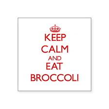 Keep calm and eat Broccoli Sticker