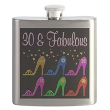 30TH SHOE LOVER Flask