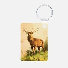 Young Bull Elk Keychains