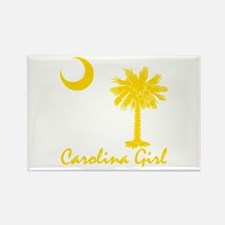 Carolina Girl Rectangle Magnet