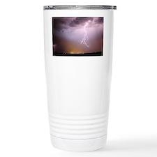 lightning storm Travel Mug