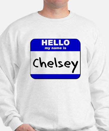 hello my name is chelsey Sweater