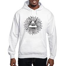 Illuminati Pyramid Eye Jumper Hoody