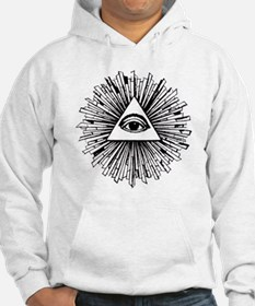 Illuminati Pyramid Eye Jumper Hoody
