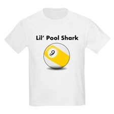 Lil Pool Shark (Nine Ball) T-Shirt