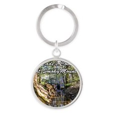 Great Smoky Mountains Calendar Round Keychain