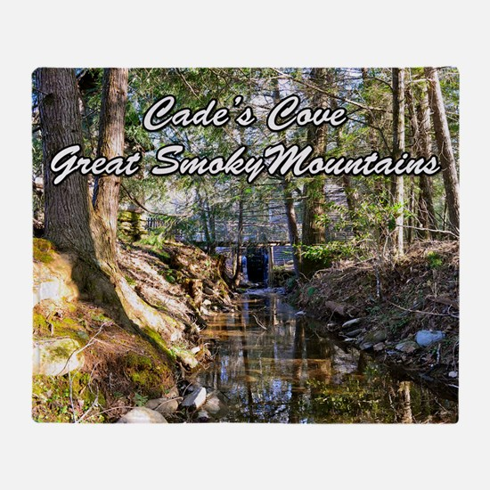 Great Smoky Mountains Calendar Throw Blanket