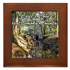 Great Smoky Mountains Calendar Framed Tile