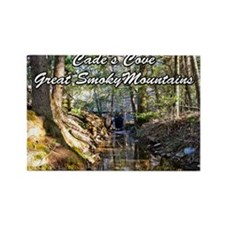 Great Smoky Mountains Calendar Rectangle Magnet