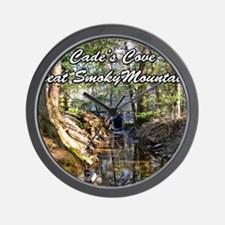 Great Smoky Mountains Calendar Wall Clock