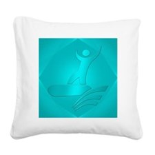 Boogie Board #2 Square Canvas Pillow